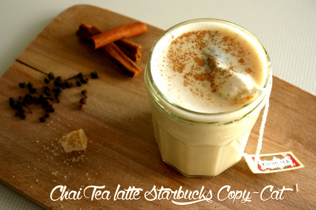 Chai Tea Latte Starbucks Copy Cat