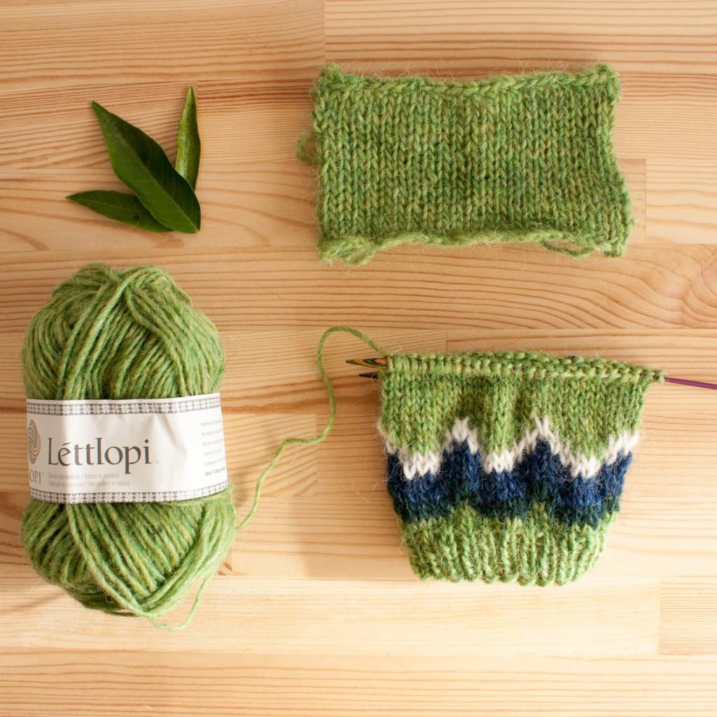 Pourquoi tricoter un échantillon | Dans le nid d'un tisserin