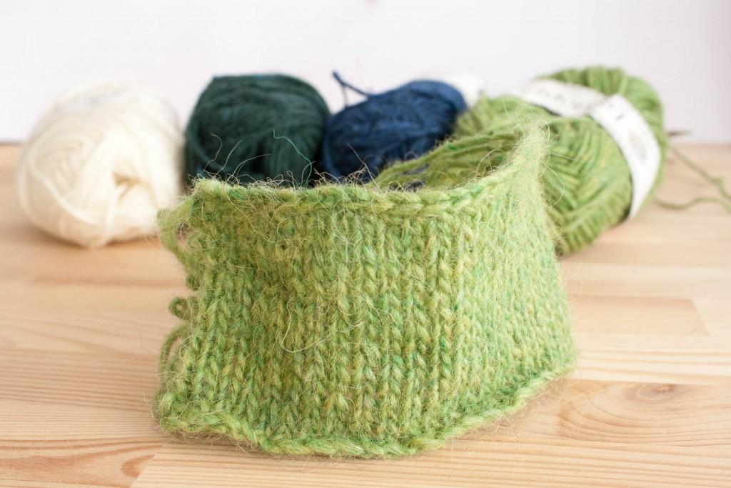 Anatomie d'un échantillon | Pourquoi tricoter un échantillon | Dans le nid du Tisserin