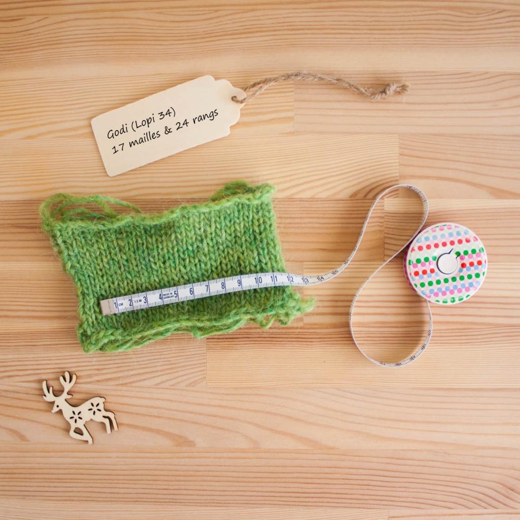 Mesurer son échantillon | Pouquoi tricoter un échantillon | Dans le nid du Tisserin