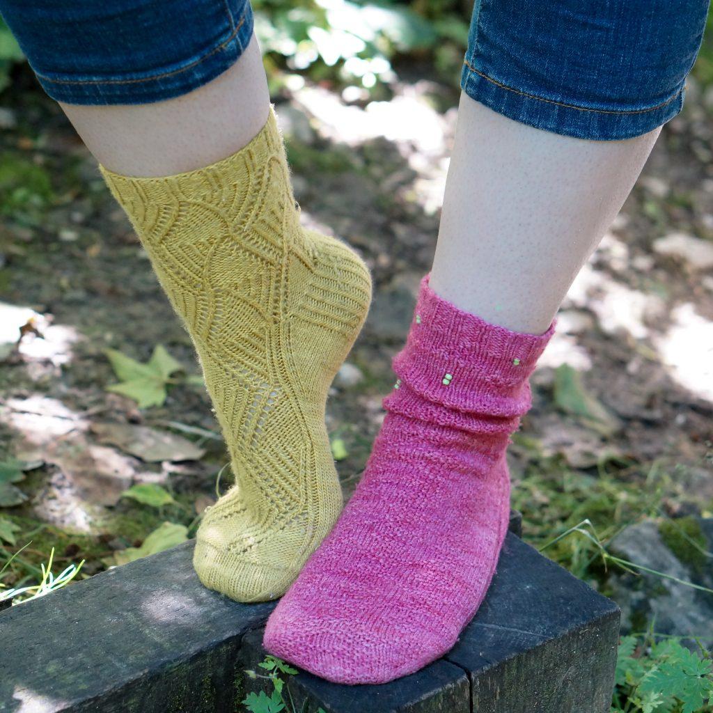 Choisir taille de chaussettes tricot  - Comparaison