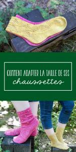 Choisir taille de chaussettes tricot - Conseils et astuces