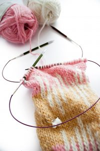 Tricot petits diamètre en rond - Knitting small pieces in the round
