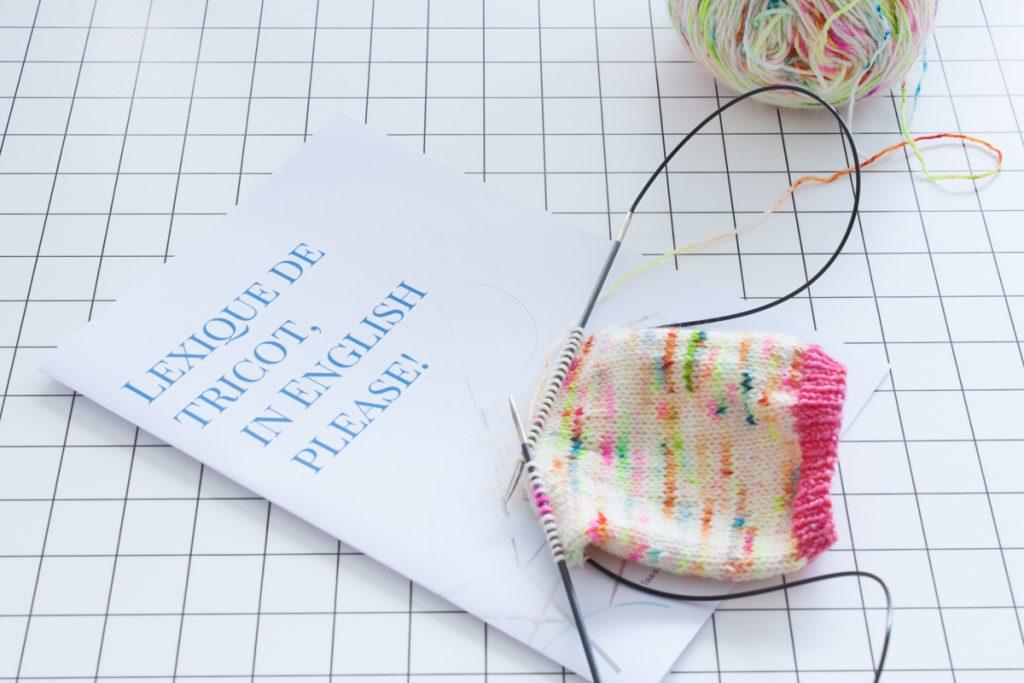 Tricoter en anglais avec un lexique