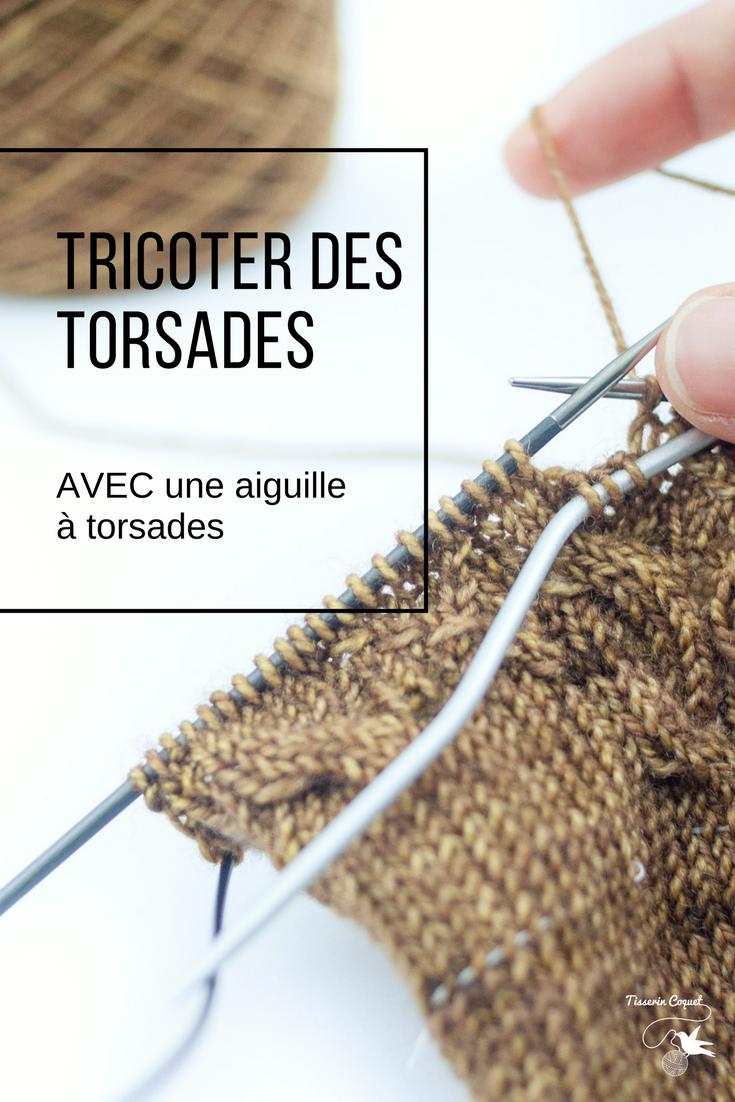 Tricoter Des Torsades 1 Avec Une Aiguille à Torsades