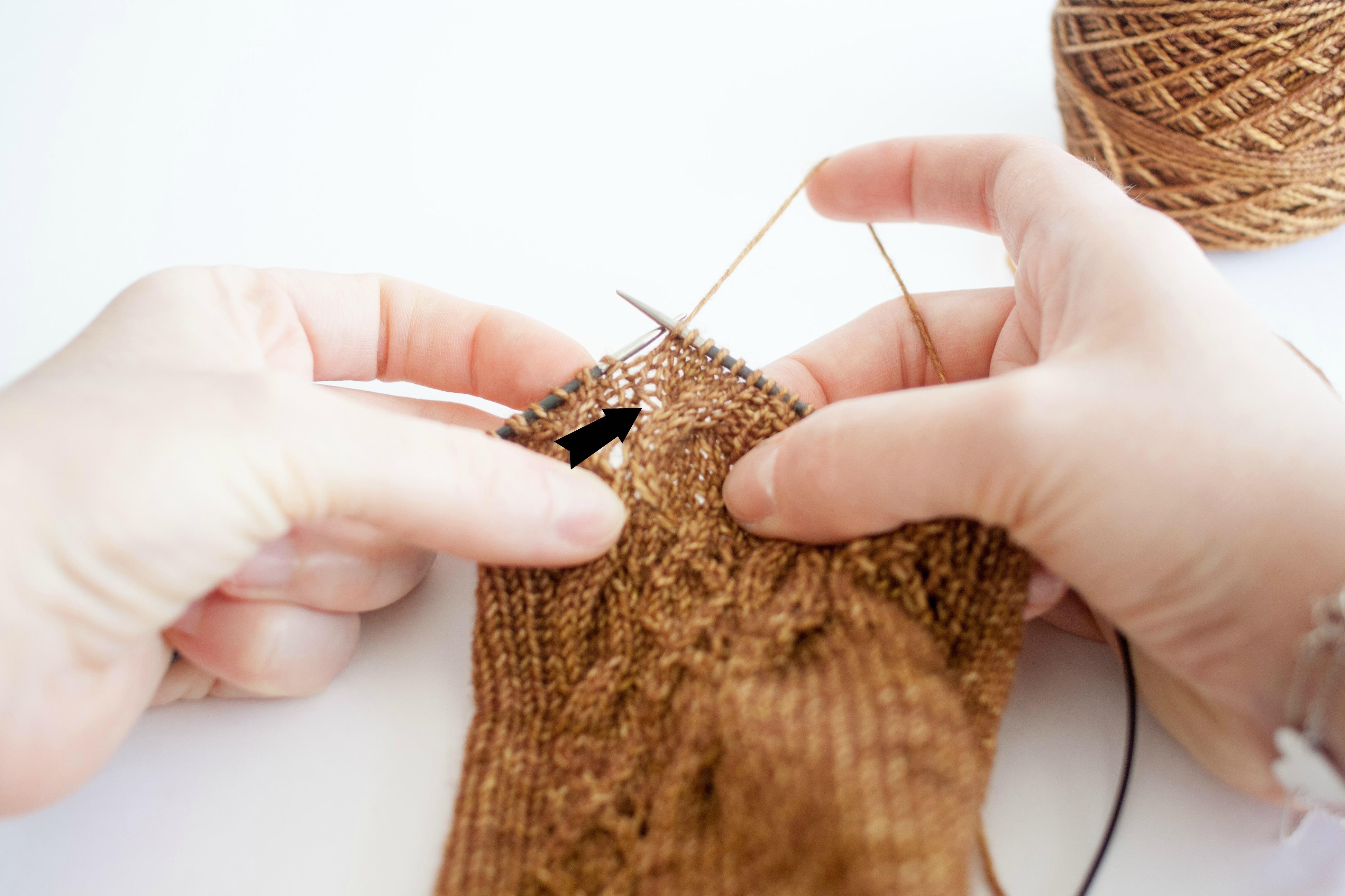Tricoter Des Torsades 3 Comment Compter Ses Rangs Dans