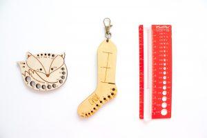 Rangement pour aiguilles interchangeables : les jauges à aiguilles